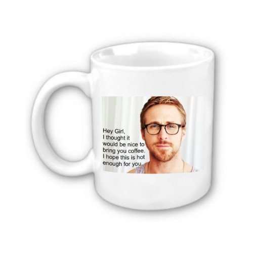Ryan Gosling Coffee Mug ($16)