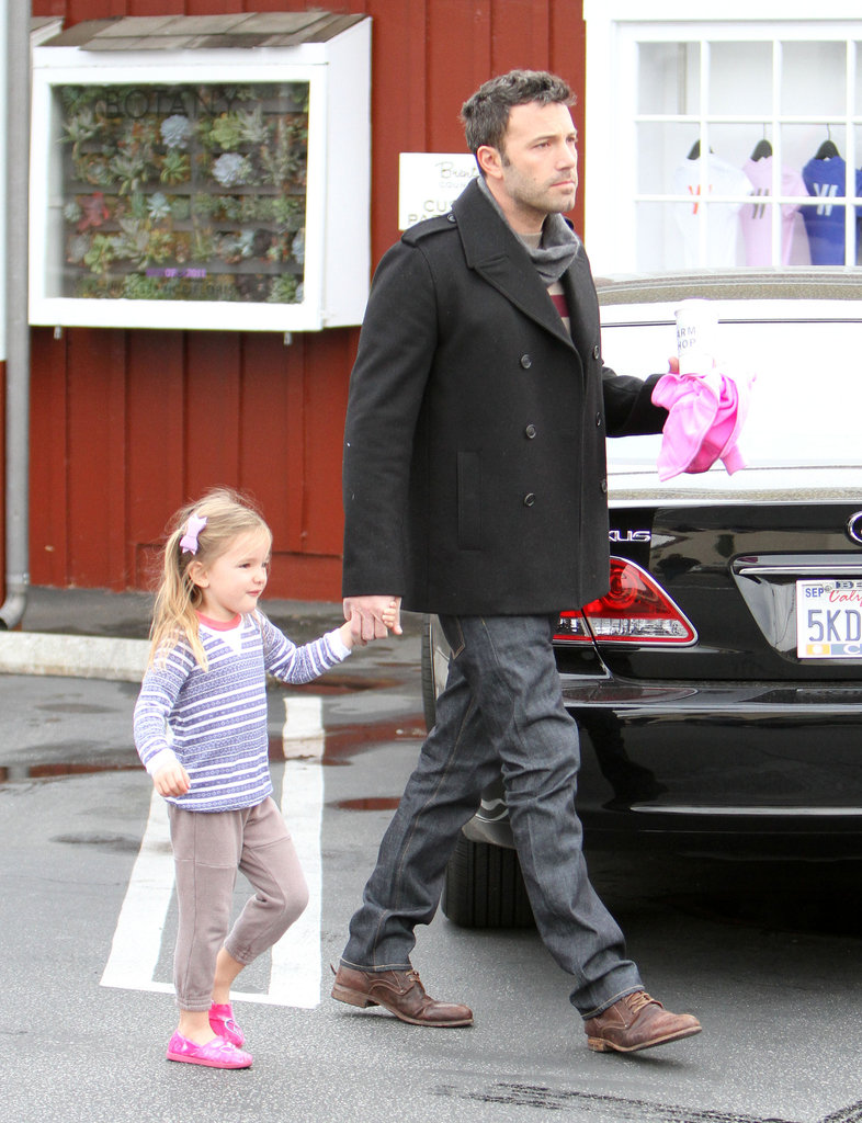 Ben Affleck took Seraphina to breakfast.