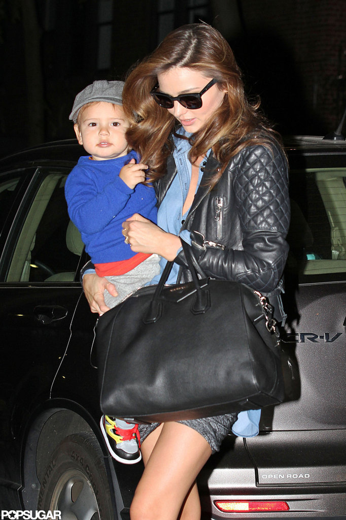 Miranda Kerr Has a Smiley Date Night With Flynn Bloom