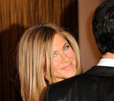Jennifer Aniston and Justin Theroux Stay Close at a Bash For Ben Stiller