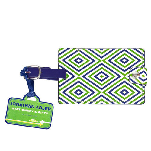 Jonathan Adler Arcade Luggage Tag in Desk Accessories