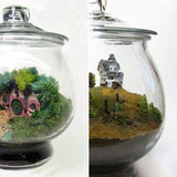 Geek in Wonderland: Mini Movie Sets in Tiny Terrariums
