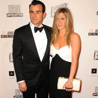 Jennifer Aniston in Black and White Valentino Dress | Video