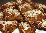 Desserts: Pumpkin Coconut Bars