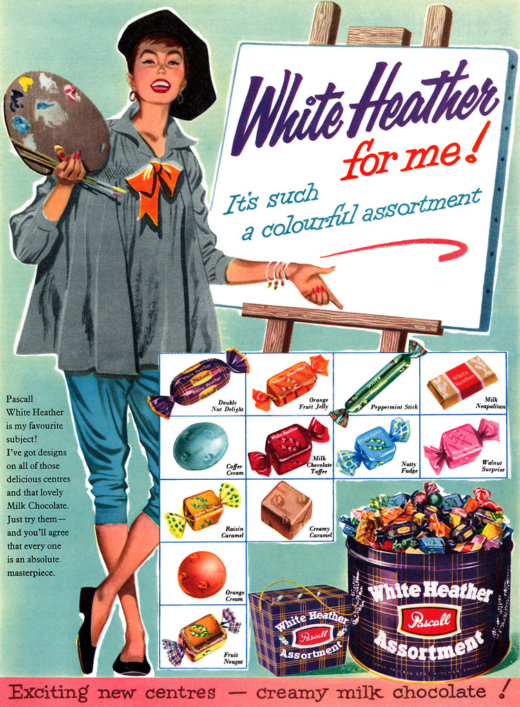 "If it's such a ""colorful assortment,"" why is it called ""White Heather""?"