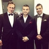 Guy Sebastian suited up for the GQ Men of the Year Awards in Sydney. Source: Instagram user guysebastian