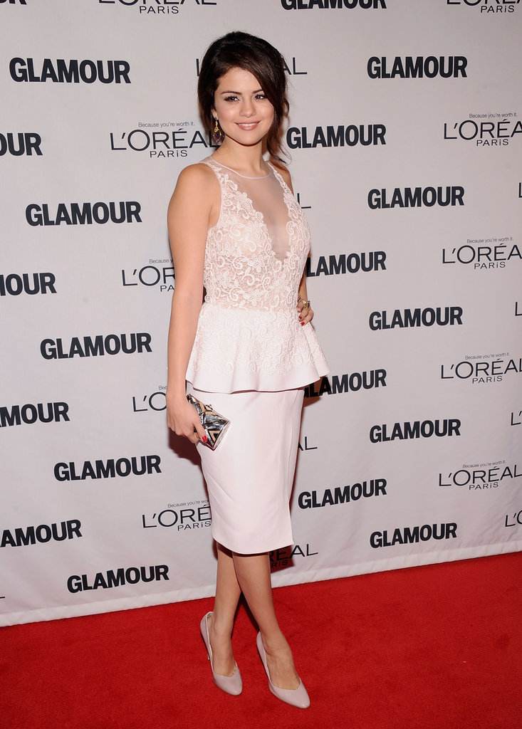 Selena Gomez attended the 22nd Annual Glamour Women of the Year Awards in New York City on November 12, one day after news of her split with Justin Bieber broke.