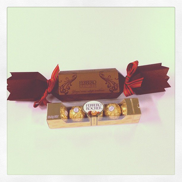 Ferreros! One of our favourite deliveries, ever. It was a first in, best dressed situation for these goodies.