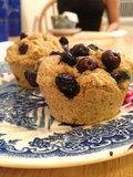 Vegan Blueberry Scone Recipe