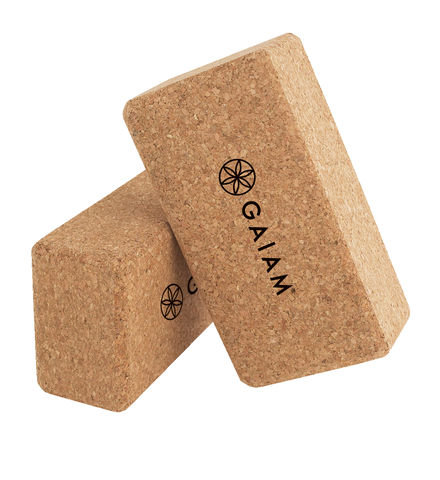 Gaiam Cork Yoga Blocks