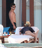 Diane Kruger and Joshua Jackson hung out in Cabo.