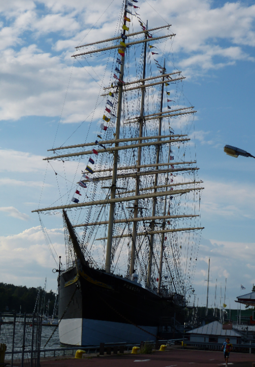 Museum ship Pommern 