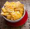 Cheesy Phyllo Crackers