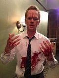 Neil Patrick Harris had a long day on the set of How I Met Your Mother. Source: Twitter user ActuallyNPH