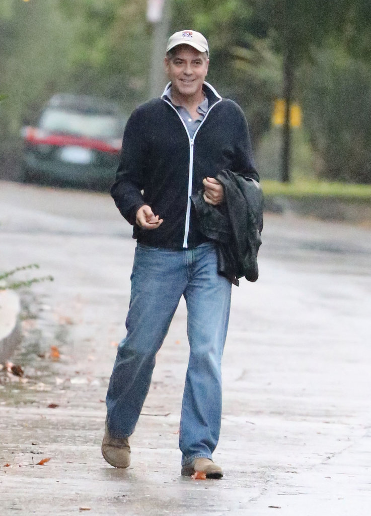 George Clooney was out in LA.