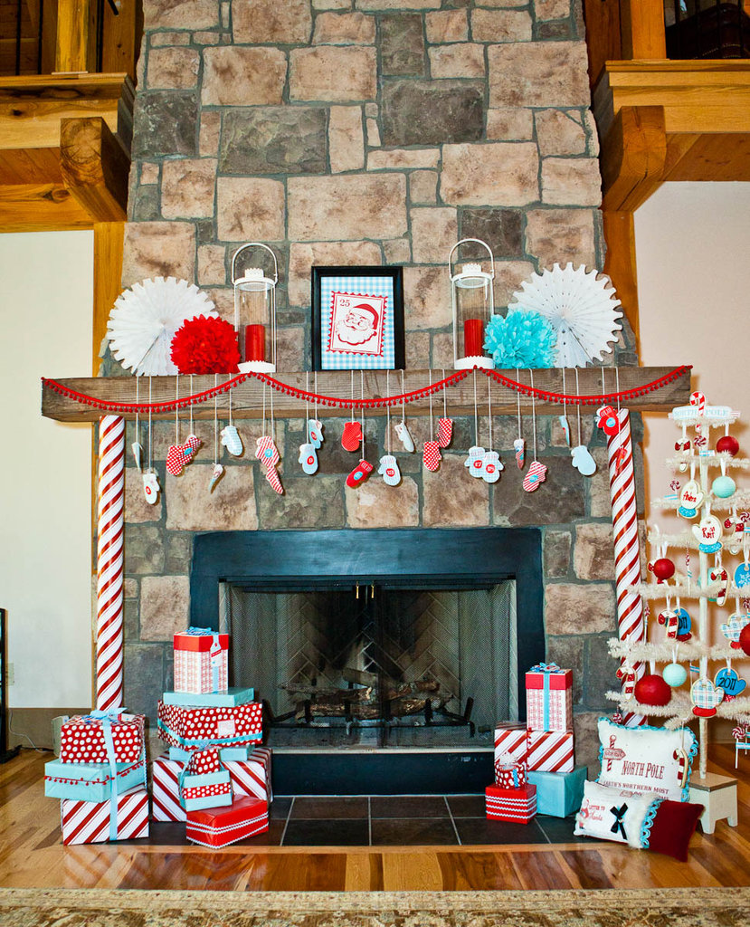 North Pole Decor