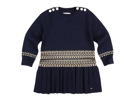 Juicy Couture Metallic Fair Isle Dress