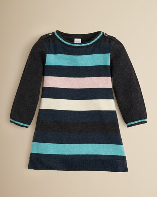 Egg by Susan Lazar Striped Knit Dress