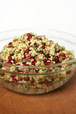 Millet, Lentil, and Pomegranate Salad