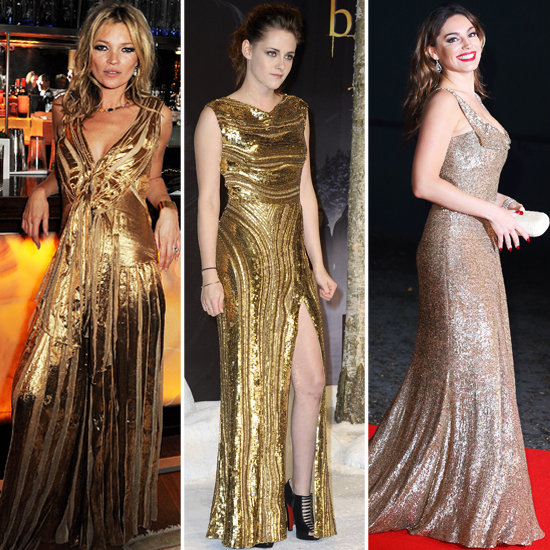 Whose Gold Dress Do You Like Best?