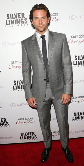 Bradley Cooper stepped out for the Silver Linings Playbook LA premiere.