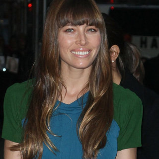 Jessica Biel at the Late Show | Pictures