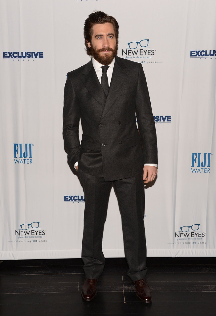 Jake Gyllenhaal was the honored guest at the New Eyes For the Needy 80th Anniversary Gala.