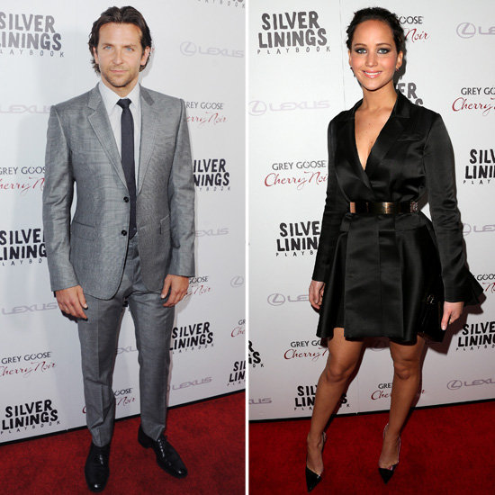 Jennifer and Bradley Debut Silver Linings Playbook Side by Side in LA