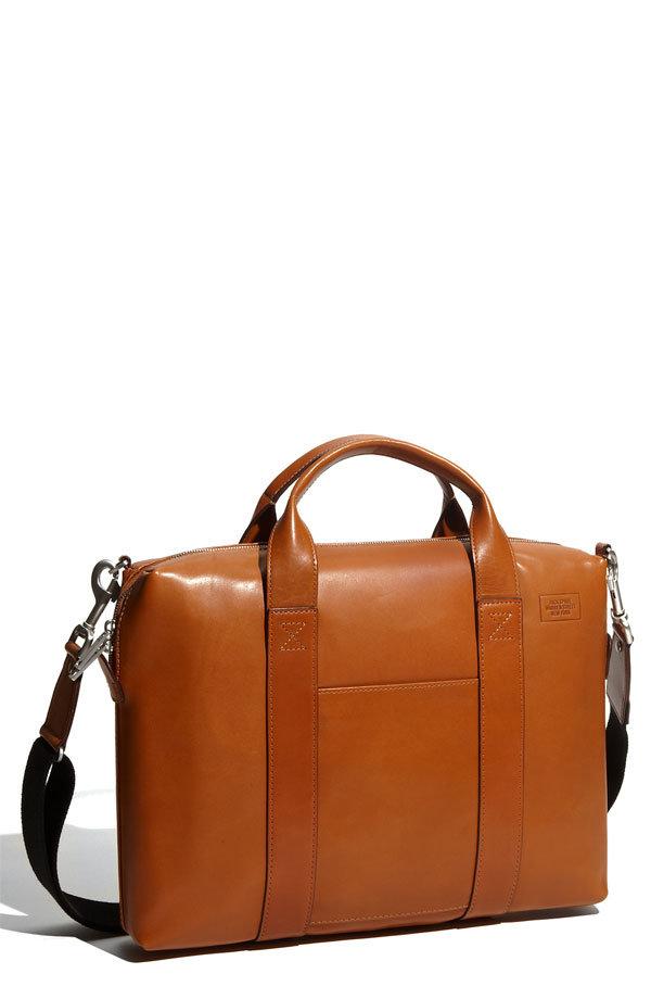 Jack Spade Davis Leather Briefcase