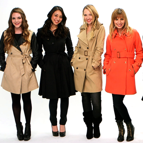 Best Trench Coats 2012