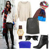 Cute Scarf Street Style Winter 2012