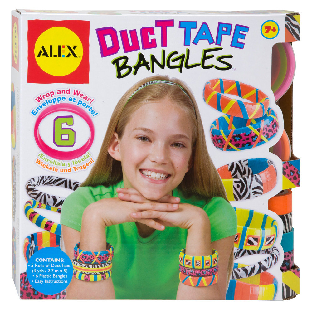 For 7-Year-Olds: Duct Tape Bangles Kit