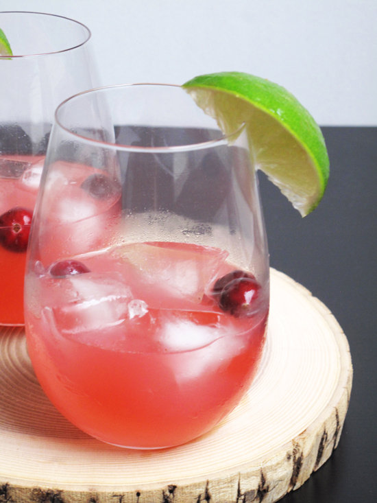 Cranberry Sauce Cocktail