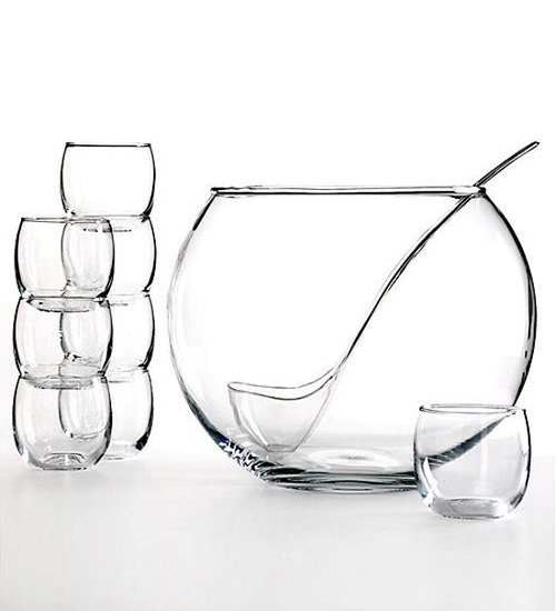 Minimalist Punch Bowl Set
