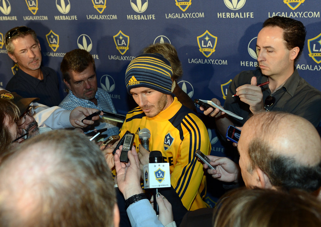 "David Beckham Leaves the LA Galaxy in  Search of ""One Last Challenge"""