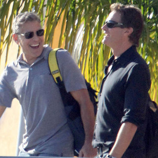 George Clooney und Stacy Keibler in Cabo mit Cindy