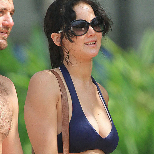 Jennifer Lawrence Wears a Bikini in Hawaii | Pictures