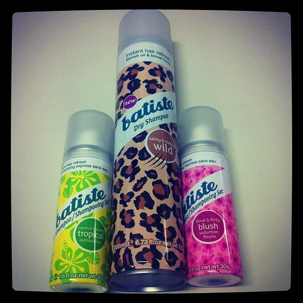 Batiste dry shampoo in fancy new scents. We love!