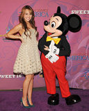 Miley celebrated her sweet 16 at Disneyland a little early in Oct. 2008.