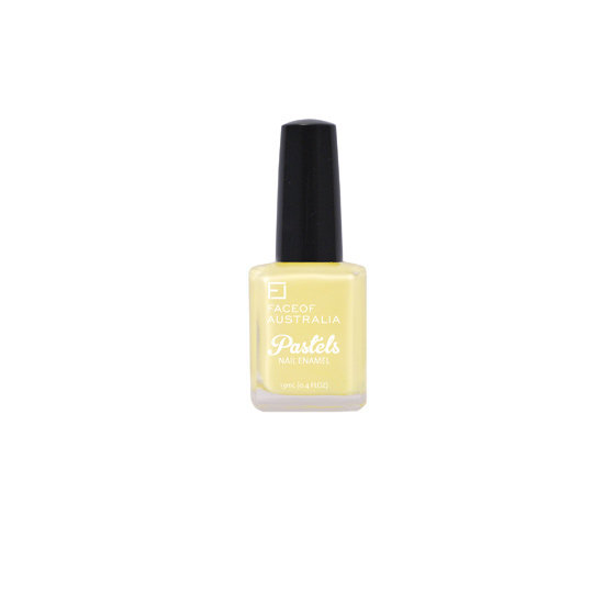 Face of Australia Pretty Pastels Nail Enamel in Easy Peasy Lemon Squeasy, $4.95