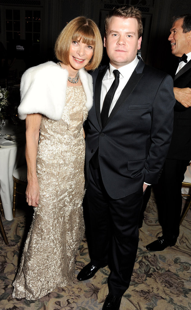 Anna Wintour and James Corden