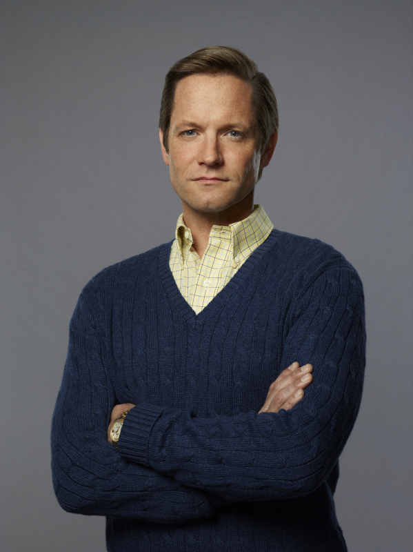 Matt Letscher as Tom Bradshaw on The Carrie Diaries.