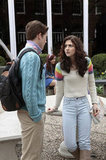 Brendan Dooling as Walt and Katie Findlay as Maggie on The Carrie Diaries.