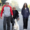 Bradley Cooper and Zoe Saldana Walking on Thanksgiving