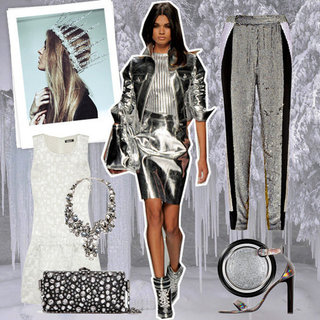 Metallic Trend Mood Board | Winter 2012