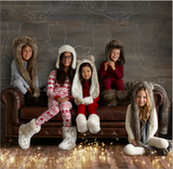 For 9-Year-Olds: Luxe Faux-Fur Animal Hood