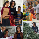 The Obamas Pardon a Turkey and Pick a Tree Over Thanksgiving Weekend