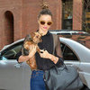 Miranda Kerr Stylish in NYC With Flynn Bloom and Frankie