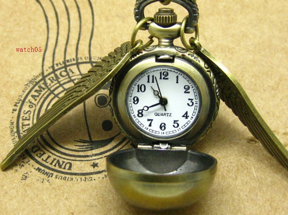 Golden Snitch Pocket Watch ($4)