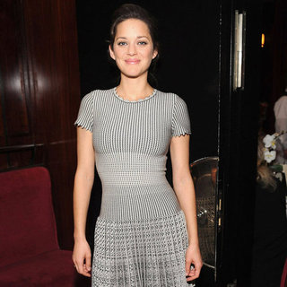 Marion Cotillard Promotes Rust and Bone at a Luncheon